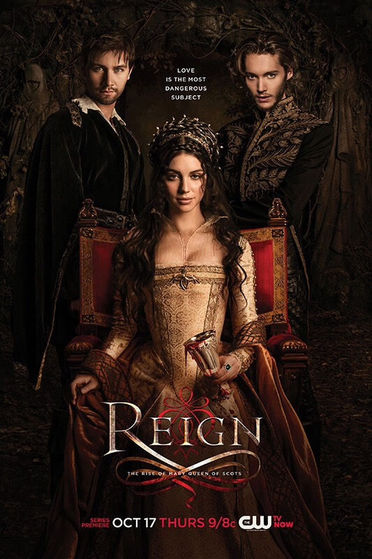 I love Reign. It's about early rule in France but it adds drama and romance into the mix