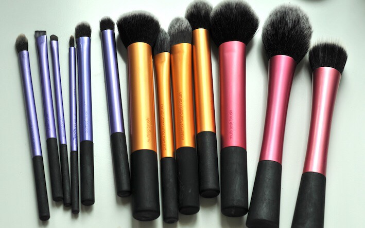 Real Techniques Brushes  Yes. These are the best brushes ever. They are super soft and there's a fairly big line so you have plenty to choose from.