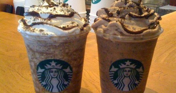cookie dough frappuccino:  Cinnamon Dolce Creme Frappuccino Add mocha syrup (1 pump tall, 2 pumps grande, 3 pumps venti) Java chips blended in Top with cookie crumble and chocolate whip
