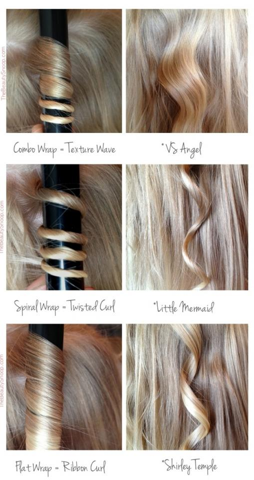 11. Use these different rolling techniques to get the kind of curl you want.