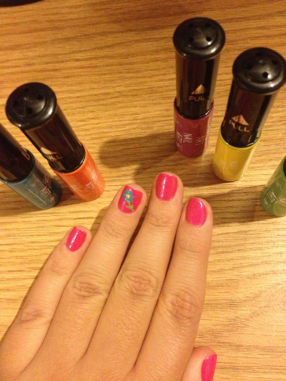 Perfect for experimenting with nail art :)