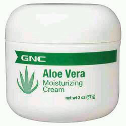 After the rubbing alcohol cools rub the Aloe Vera cream on. What this does is moisturizes the sunburn so you don't blister. You can use any Aloe Vera cream not just the one in the picture.
