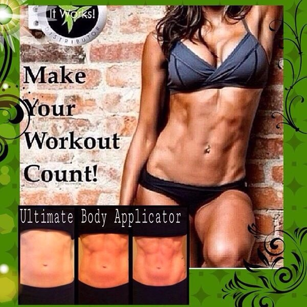 Show off your results when you tighten tone and firm the skin!