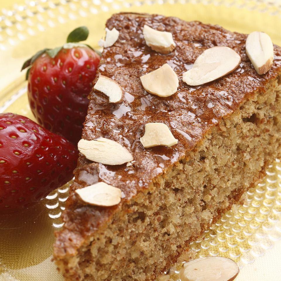 Yum! Please Like👍🏻 and share😍. Thank you! ❤️  http://www.eatingwell.com/recipe/249866/flourless-honey-almond-cake/