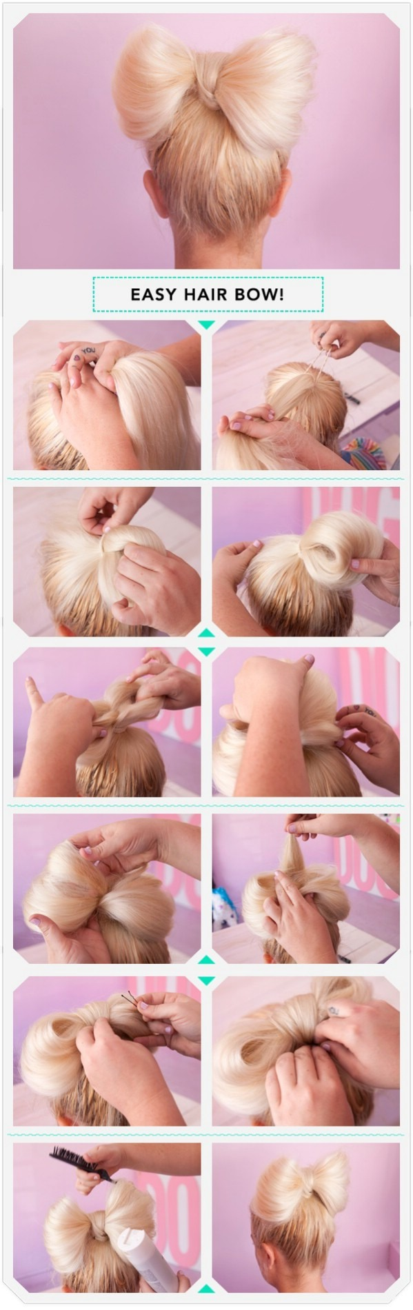 How to bow your hair!