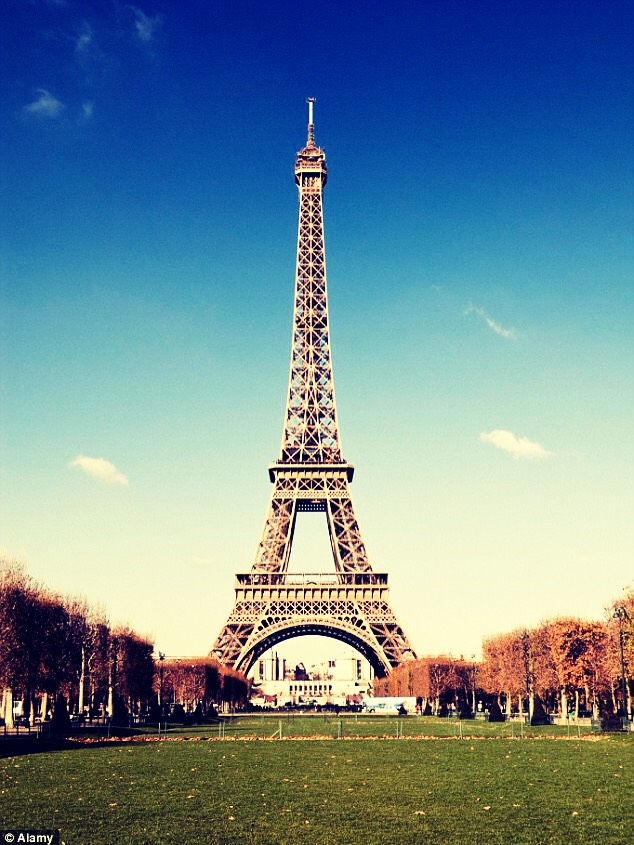 The Eiffel Tower is approximately 6 inches taller in the summer