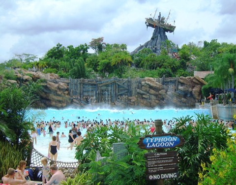 Blizzard Beach (BB): One of Disney's two water parks.  Typhoon Lagoon (TL): One of Disney's two water parks.