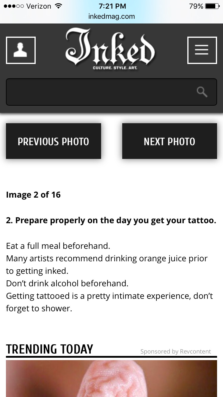 fresh tattoo care instructions
