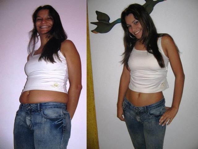 При токсикозе женщина худеет или попровляется