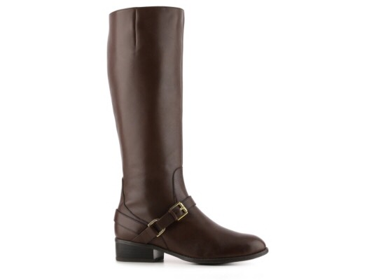 A pair of riding boots look cute with almost everything