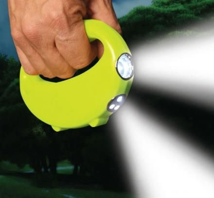 14.Alert Stamping Ultra LED Handheld Walk Light Now you can no longer worry about walking your dog in the dark and stepping on poo! $25.00