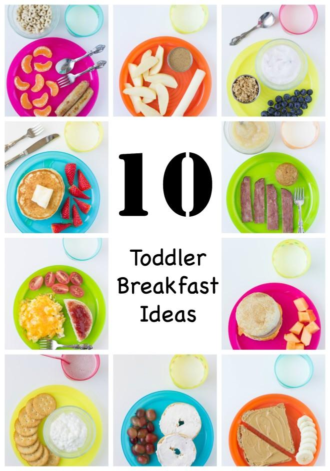 Is your toddler a picky eater? Here are some great toddler approved easy breakfast suggestions.