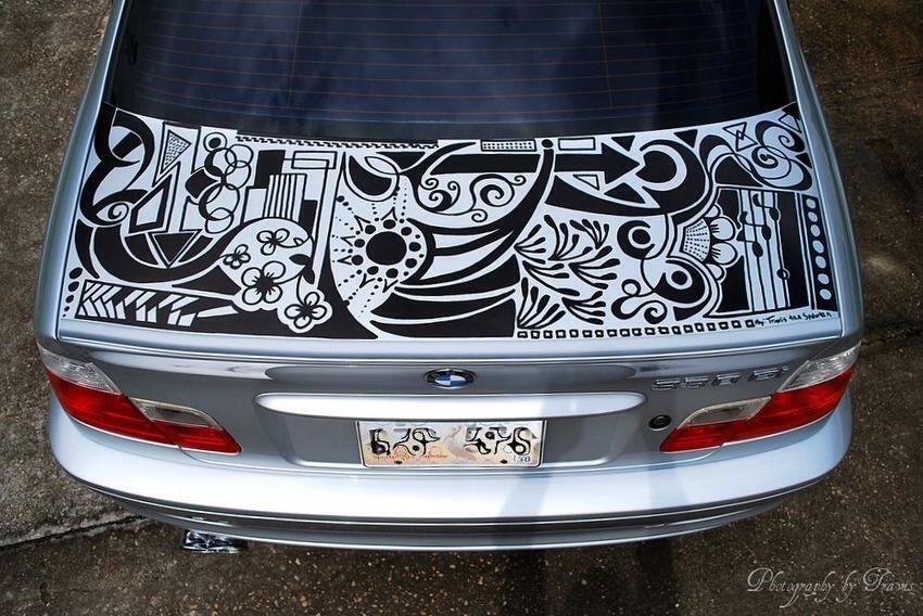 Sharpie car!