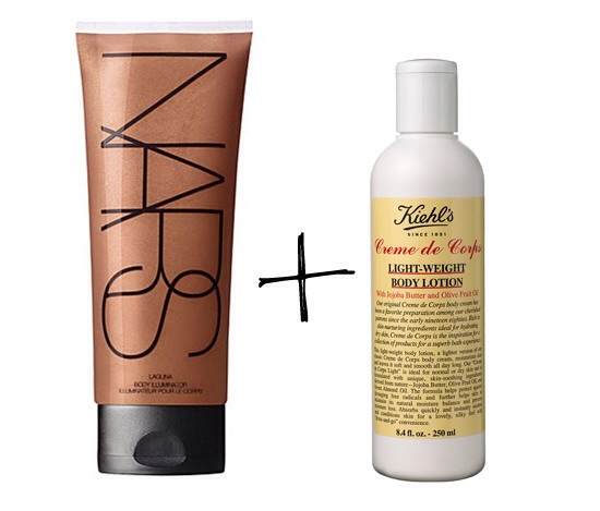 3. Sun-Kissed Legs Made Simple -If you don't have time to book a self-tanning session, spike lotion with bronzer. Mix a few pumps of liquid bronzer with regular body lotion. Rub it over legs for a gradual dose of sexy, beachy color.