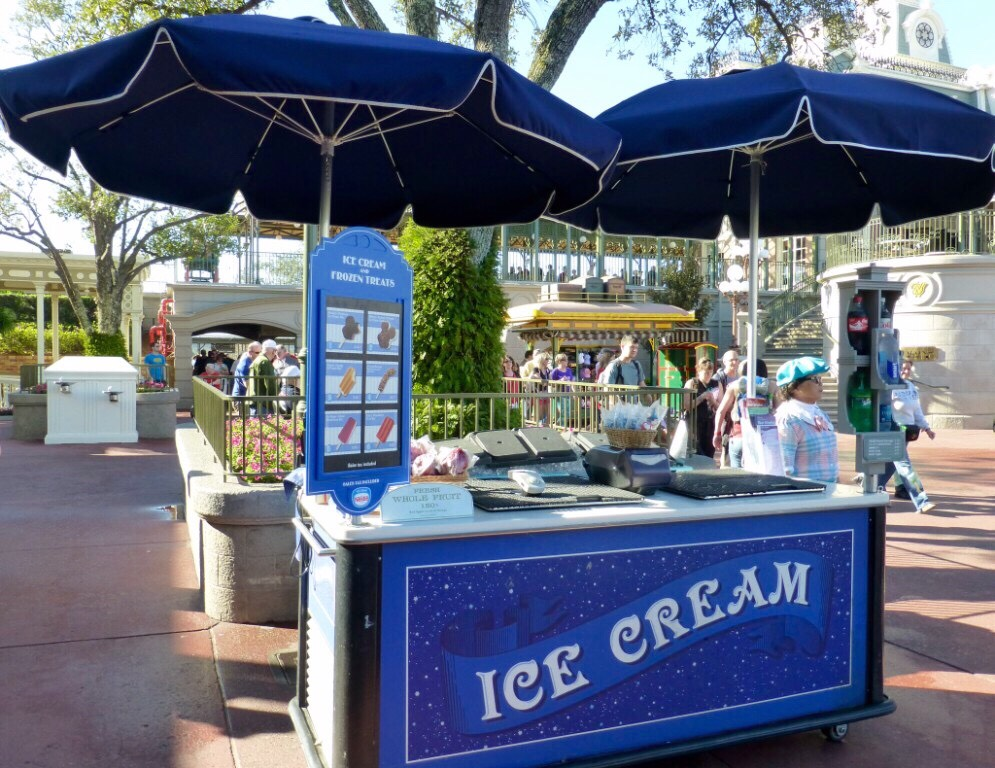 You can ask for a glass of ice water ANYWHERE in Disney World and receive one free of charge!