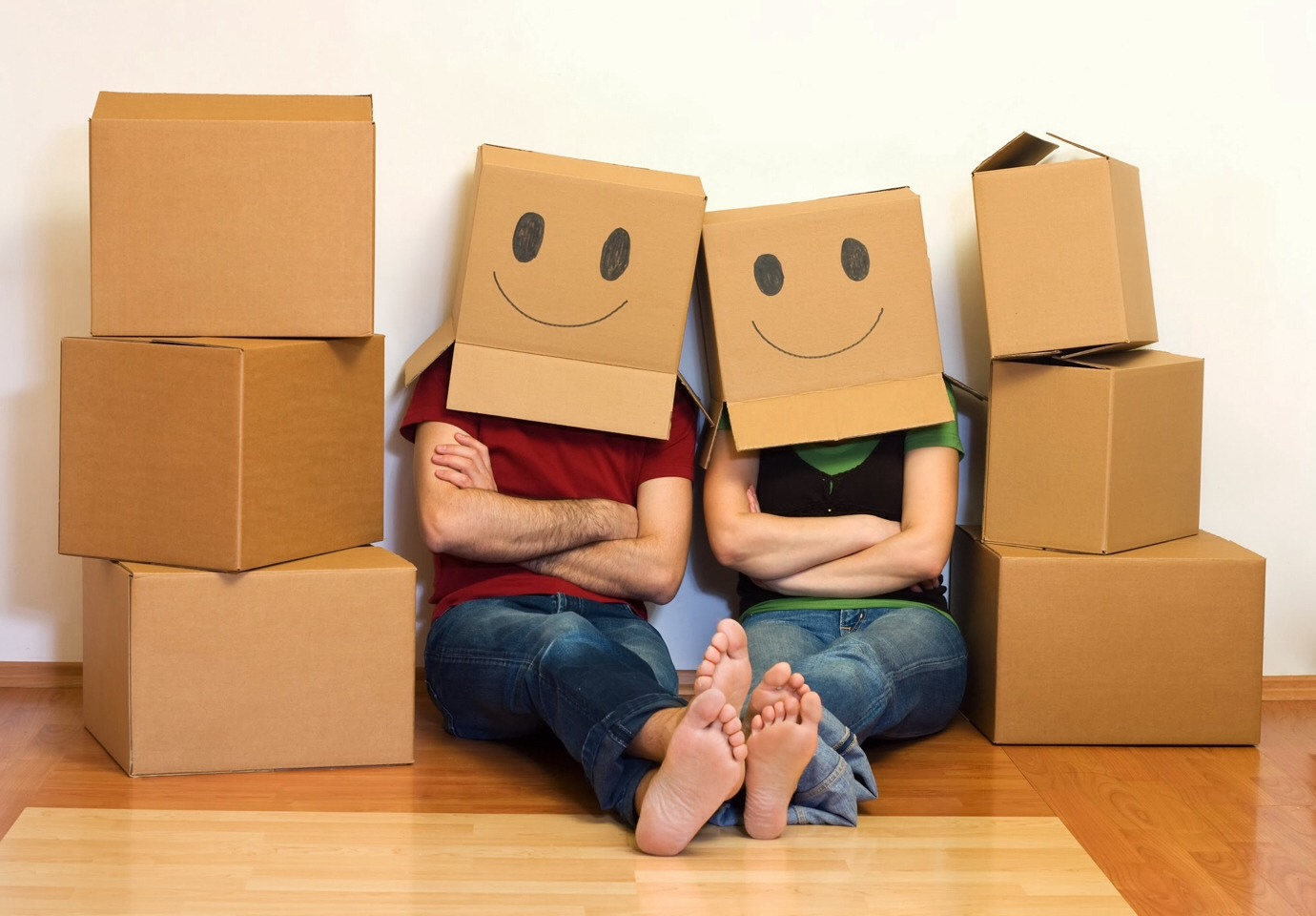 Pack one room at a time and label the box with the room that it goes in and what is in the box.