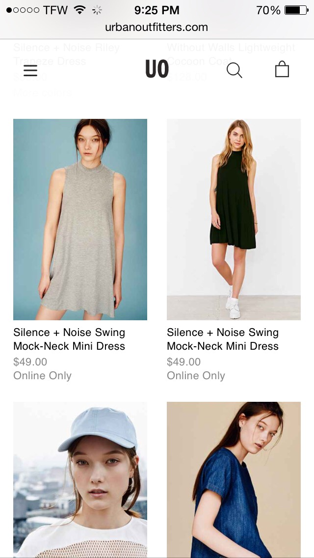 Urbanoutfitters.com has a wide range of products for men and women whether your looking for clothes, accessories, shoes, even tapestries they have it all!
