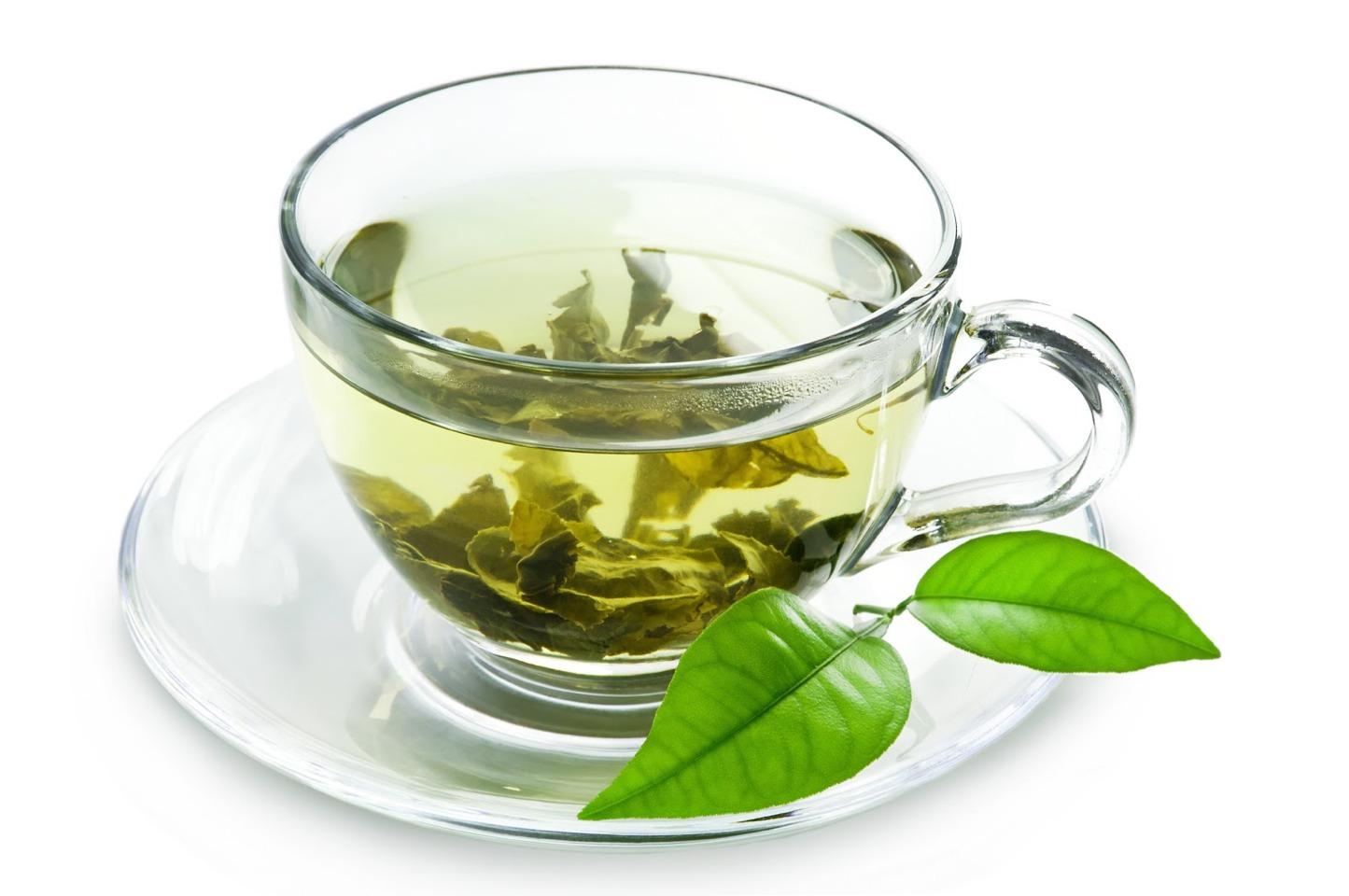 1tbs of ALL NATURAL green tea and 1tbs of the dried green tea leaves