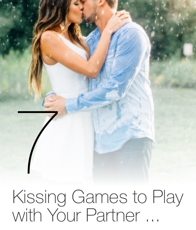 Dating kissing games