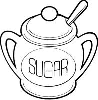 And sugar