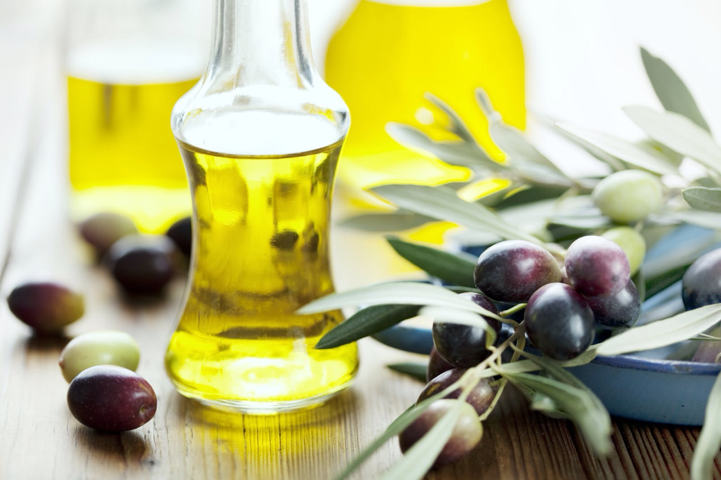 Rub lukewarm olive oil on your eyebrows at night and massage it until you feel it warm