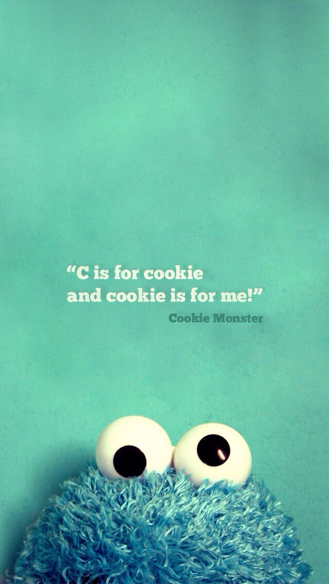 I love the Cookie Monster so this is like the cutest thing everr!