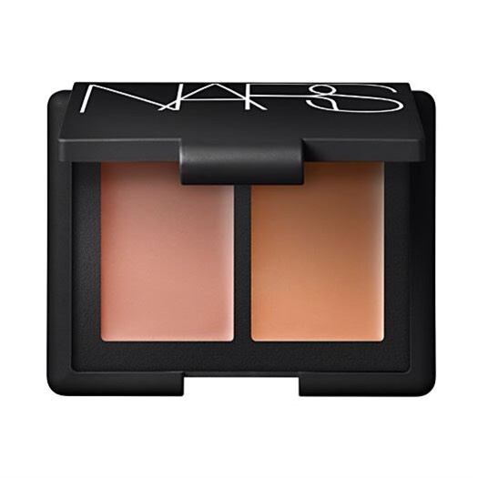 To really get the most out of your concealer routine, try out a team of a brightener and a concealer to coverup any blemishes. Nars Duo Concealer, $30, Nars