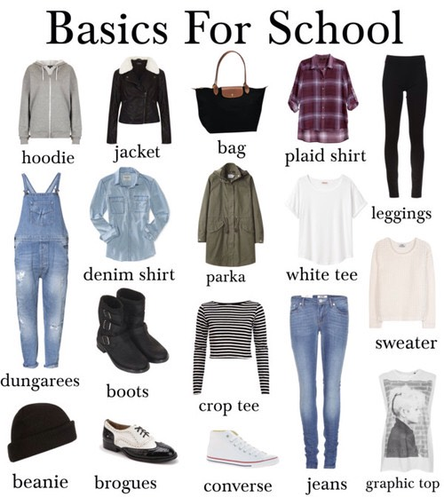 Back To School Tumblr Inspired Outfits.😍💗