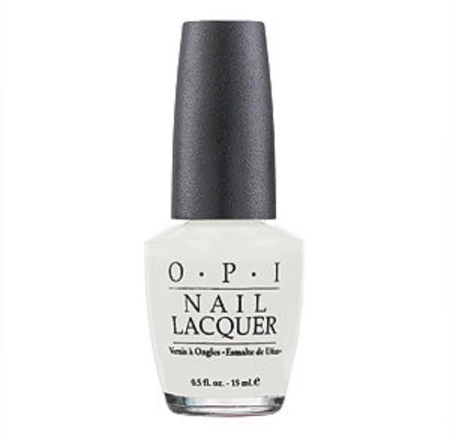 First paint your nails white