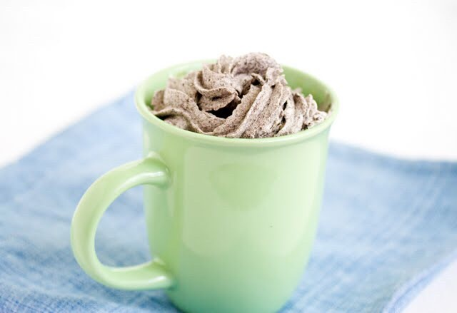 Cookies and Cream Mug Cake