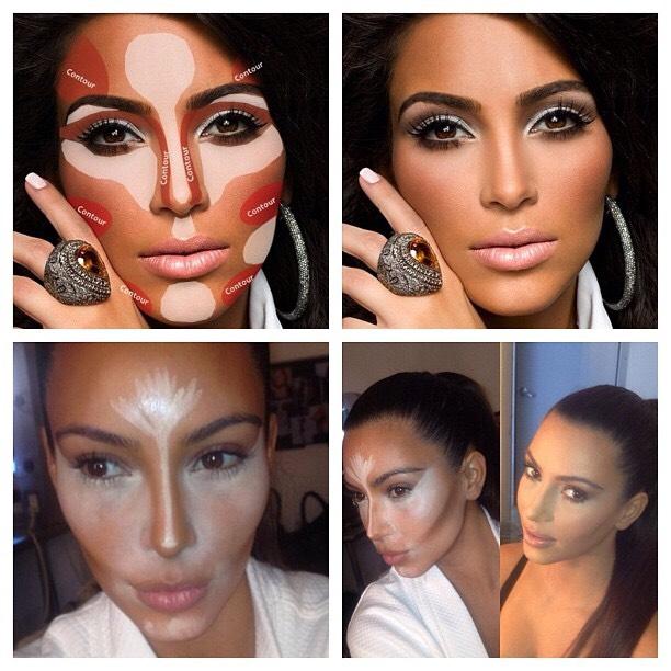 Создание правильного макияжа хайлайтер для лица