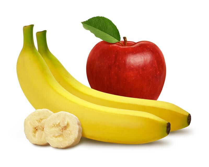 Smelling (not eating) apples and bananas help you lose weight.