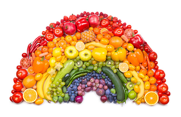 On a plate add your favorite fruits and vegetables and snack on it while watching some netflix or youtube!