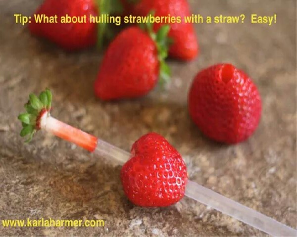 Getting the Green off of Your Strawberries