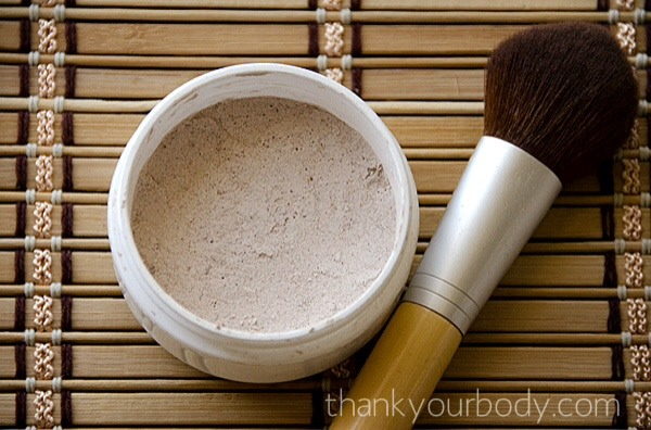 Use a brush to apply foundation. Make sure to tap off excess before swiping face. And if it is too light add some (more) cocoa powder! Enjoy 💚