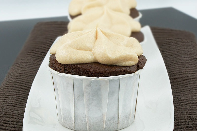 10.Vodka Cupcakes.  This one is made with a vodka creamer…the possibilities are as endless as they are delicious.   •Vodka, creamy caramel and chocolate are an amazing combination, but, WOW, these are absolutely sinful and truly decadent!