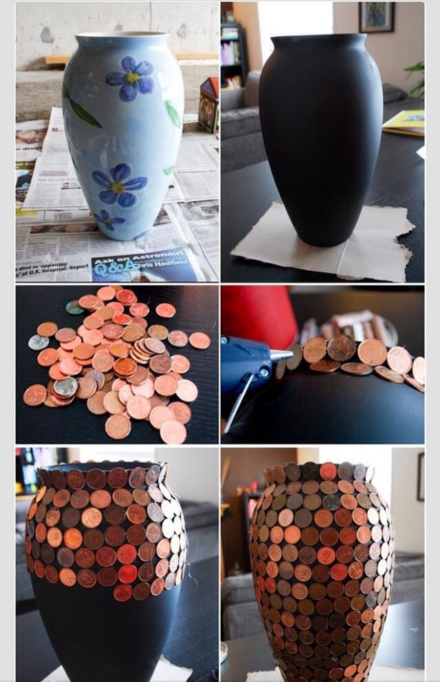 If you have old pennies lying around this is a cool thing to do