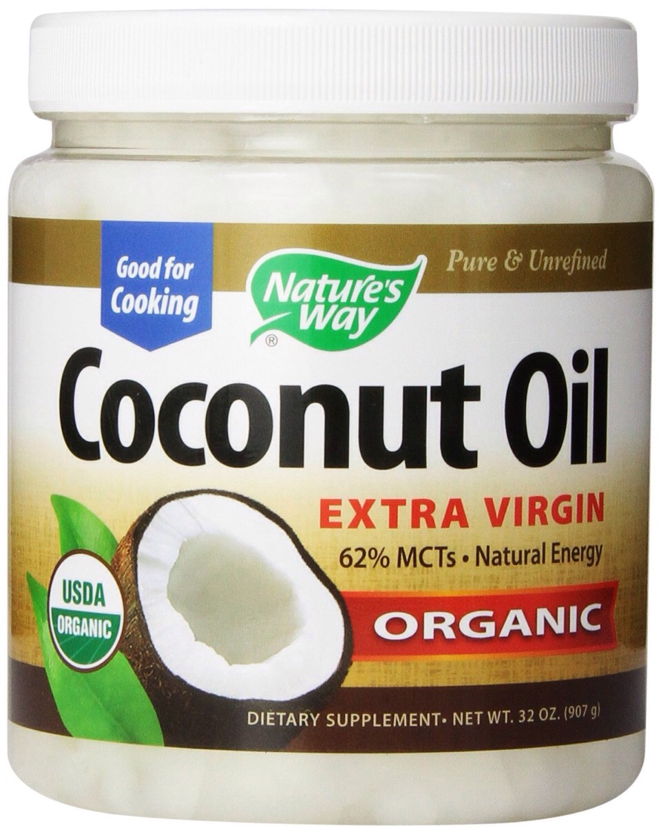 Coconut oil is a natural hair and skin conditioner and works wonders on your hair! It makes the hair super silky, soft and healthy!