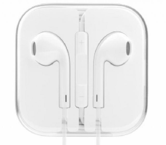 Earbuds to listen to music.