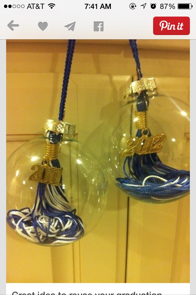 Turn them into Christmas ornaments