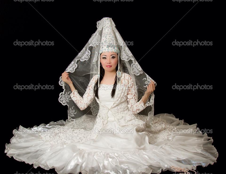 Kazakh wedding dress
