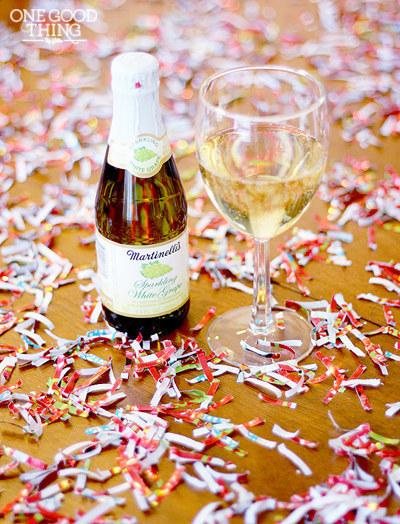 use wrapping paper to make ur own confetti