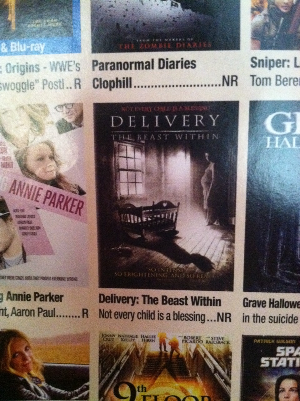 Delivery... If you liked devils due you'll like this one, c: I wanna see it so bad.