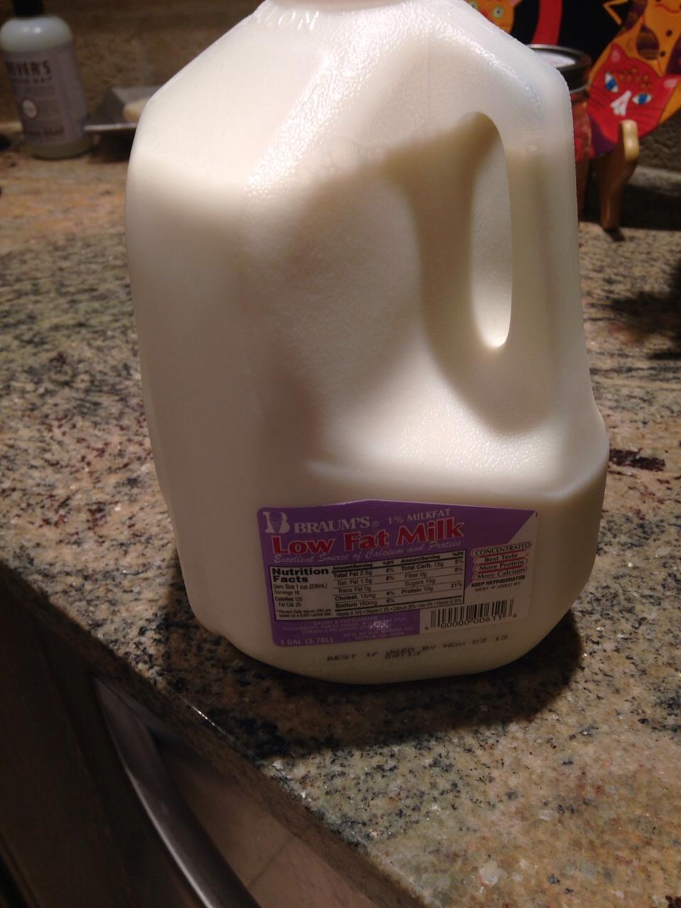 Milk is optional