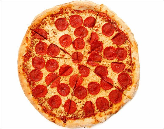 Order lots of pizza for dinner.