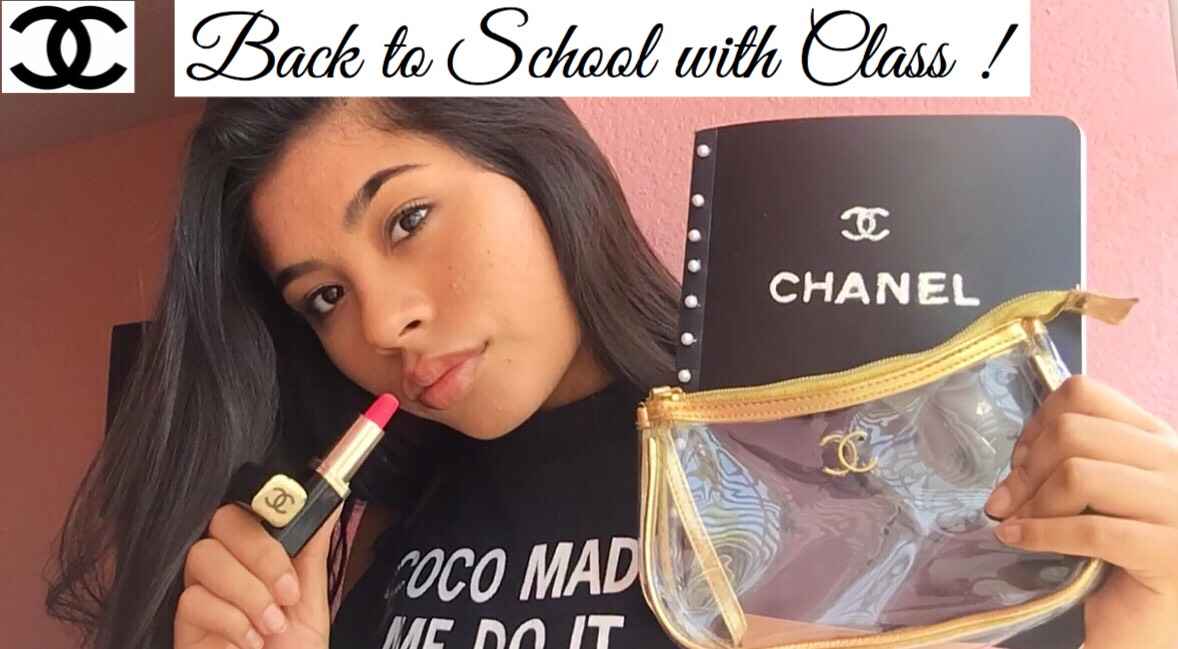 Back to School Supplies Chanel Themed !♥
