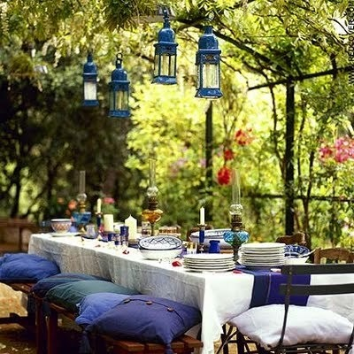 Planning a garden party? Here's a few tips to boost your creativity!