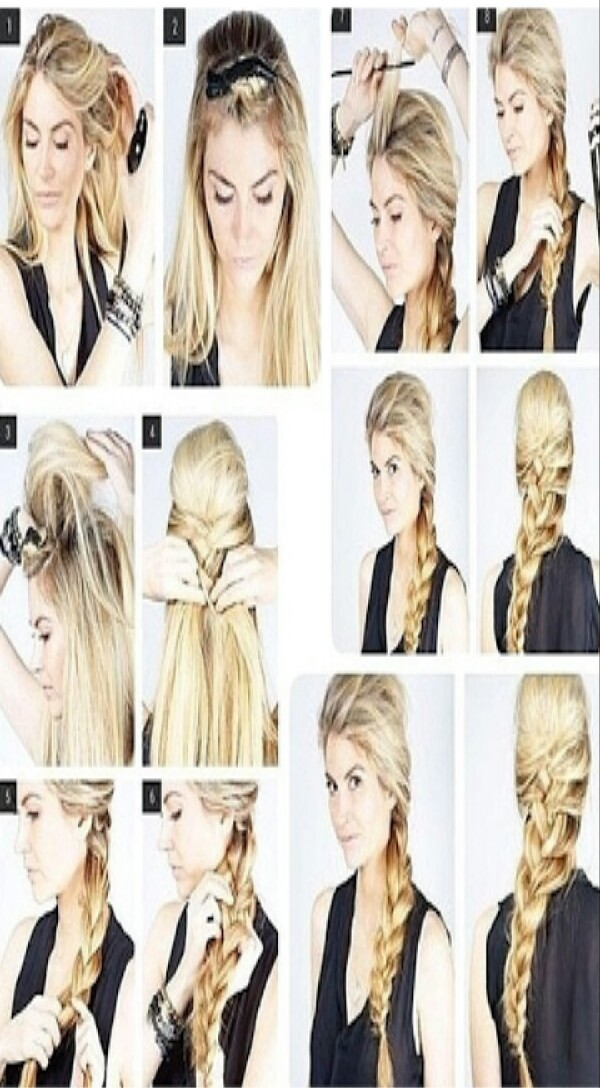 Picture Tutorial on This Beautiful Braid...  Like & share (: