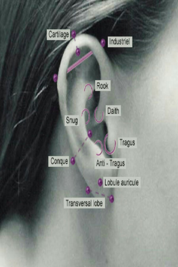 4. Ear peircings, again i think they are pretty as long as you don't go to overboard.