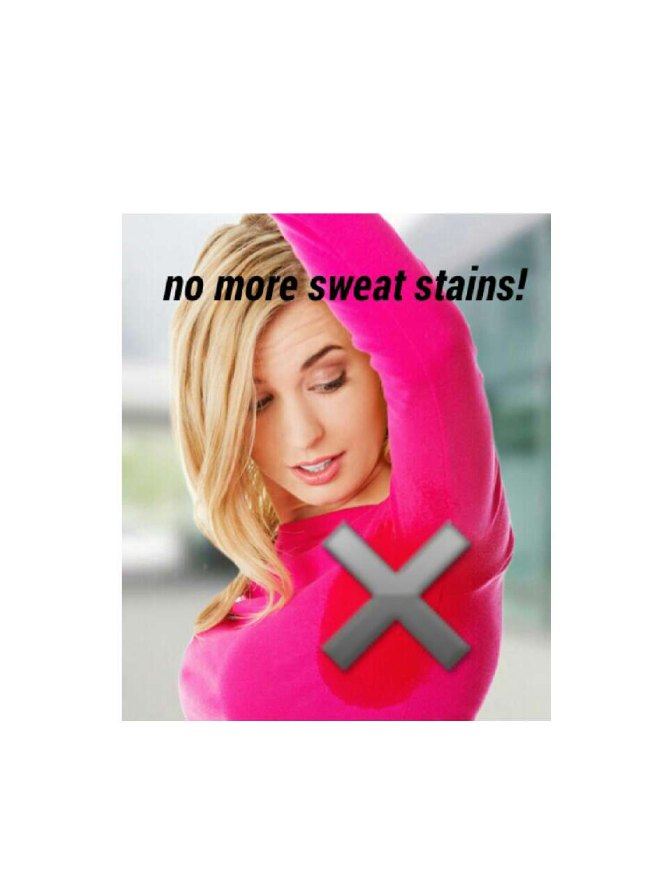 Are you tired of having sweat stains?